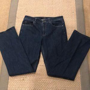Tahari Boot Cut Denim Jeans Sz 8